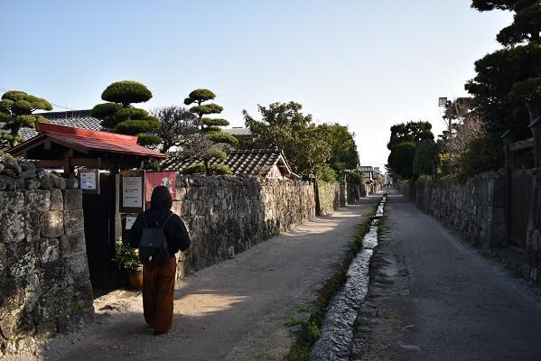 城下町、島原、散策