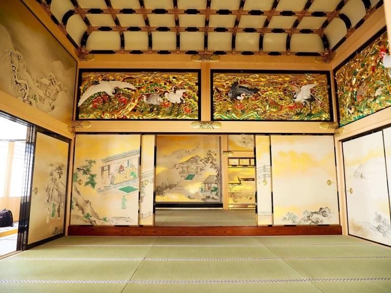 名古屋城、上洛殿一之間、上段之間