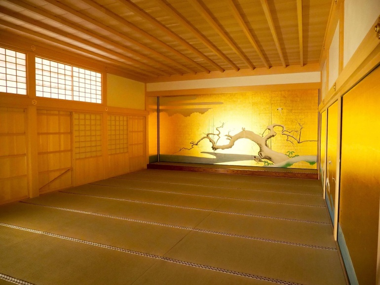 金碧障壁画、名古屋城、梅之間