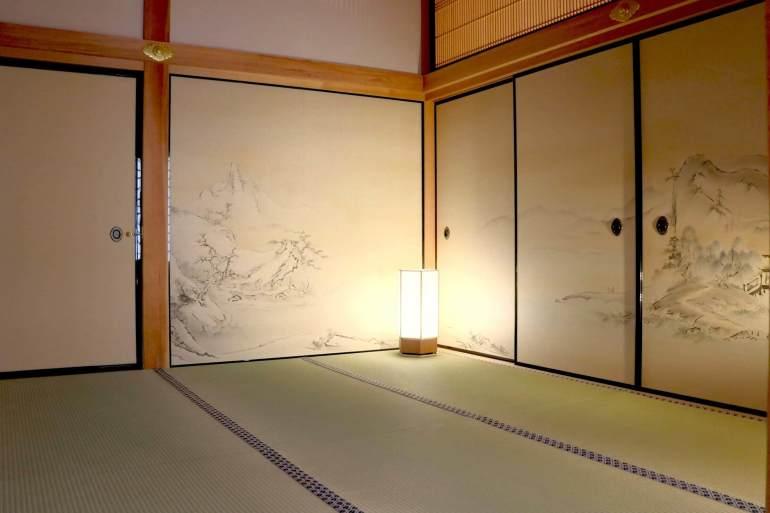 黒木書院、名古屋城、水墨画