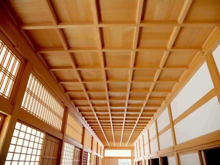竿縁天井、名古屋城、廊下