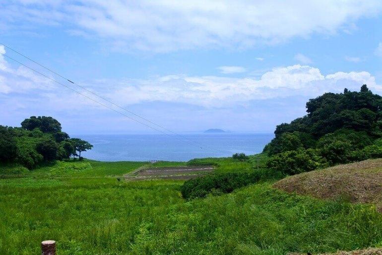 原城、本丸、二の丸、湯島、談合島