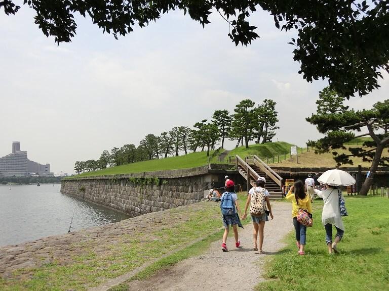 品川台場、東京湾、憩いのスポット
