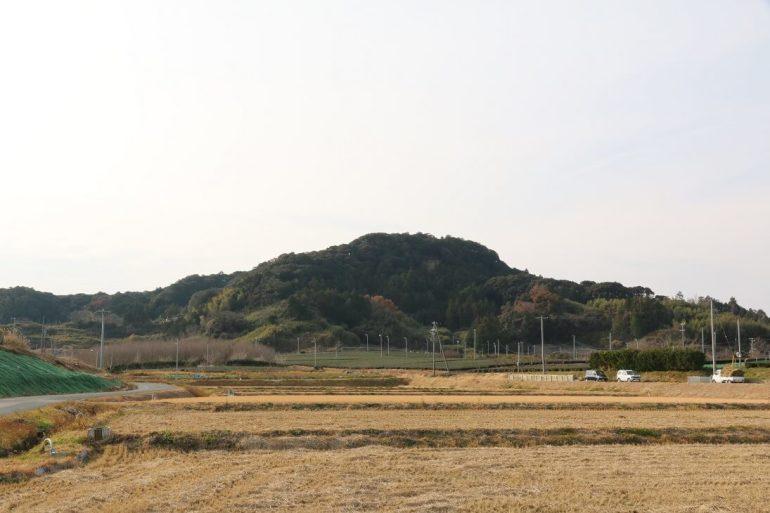 高天神城、山城、静岡