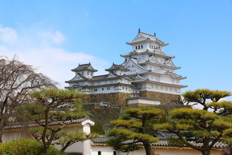 姫路城、現存12天守