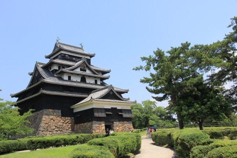 松江城、現存12天守