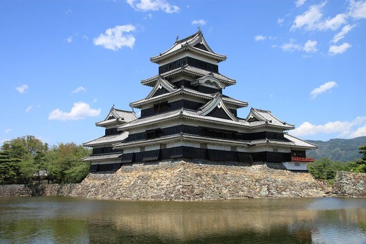 現存12天守、松本城、小林有也