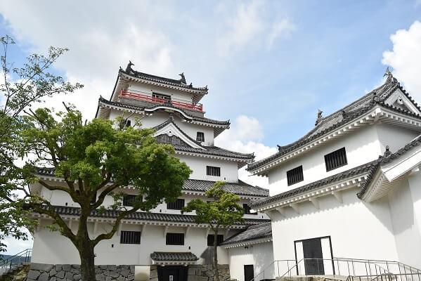 唐津城、天守閣、歴史博物館、模擬