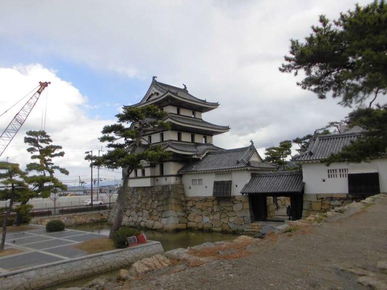 高松城、月見櫓、続櫓、南水ノ手門、渡櫓