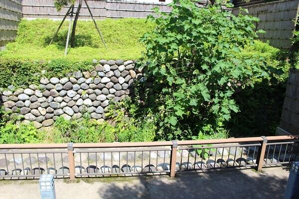 枯木橋詰遺構、金沢城