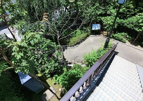 西外惣構跡、金沢城、土塁、名残