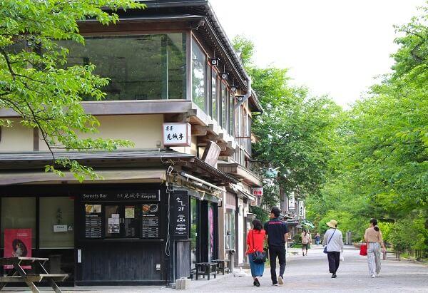 江戸町通り、長屋、珠姫