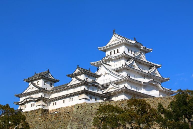 姫路城、天守、修復