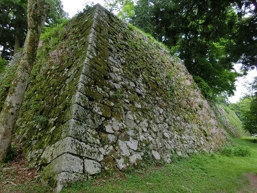 高取城、本丸、天守台、石垣、苔