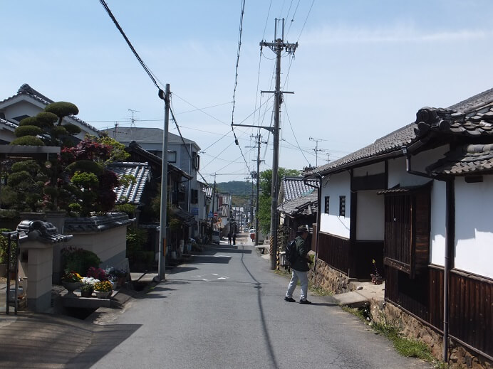 高取城、城下町、土佐街道