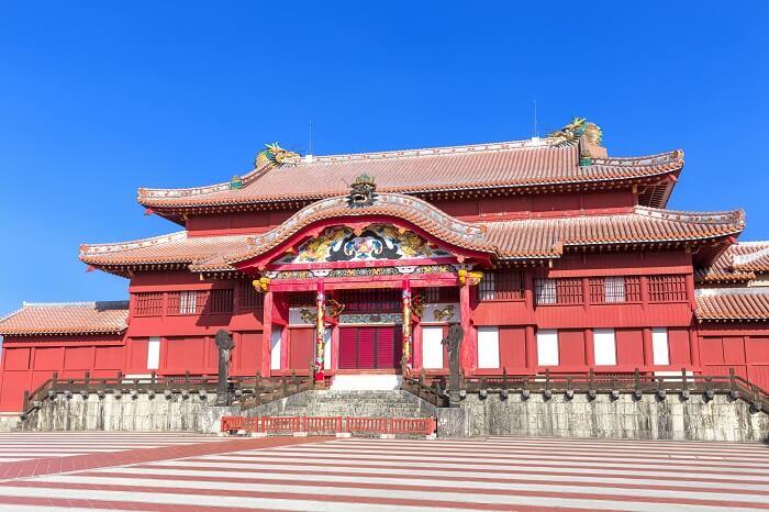 首里城、正殿、儀礼の場