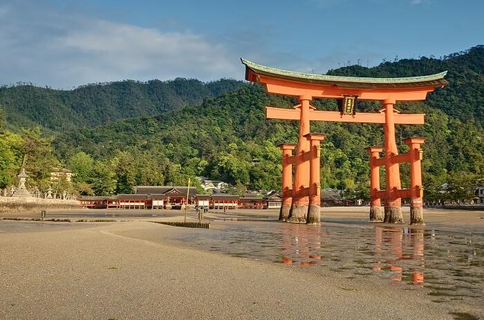 厳島神社、国宝建造物、飛鳥時代