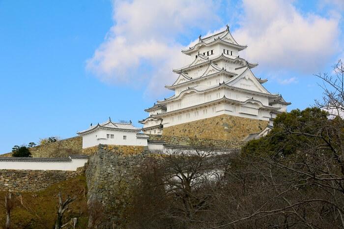 姫路城、天守、白漆喰、連立式天守