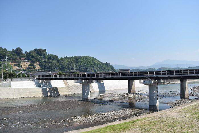日田、町並み、花月川