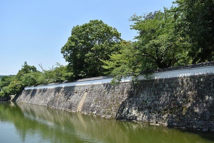 月隈公園、石垣、居城、日田代官