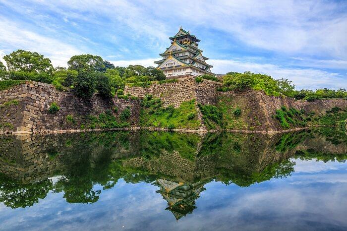 大阪城、豊臣秀吉、日本100名城