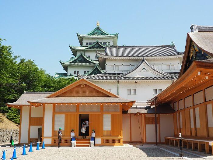 名古屋城、本丸御殿、小天守、大天守、木造復元、