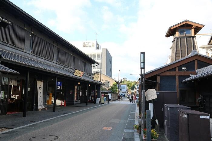 犬山城城下、お土産屋、街並み