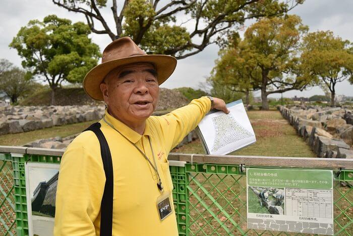 熊本城、よかとこ案内人の会、吉村徹夫