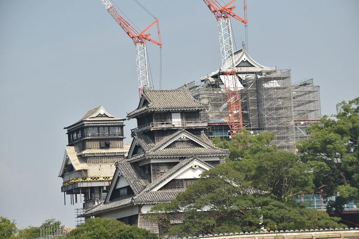 宇土櫓、熊本城、小天守