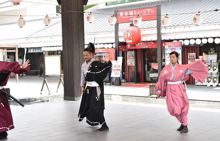 熊本城、おもてなし武将隊、加藤清正、パフォーマンス