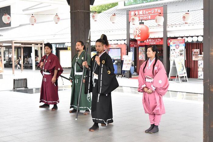 熊本城、おもてなし武将隊、トーク