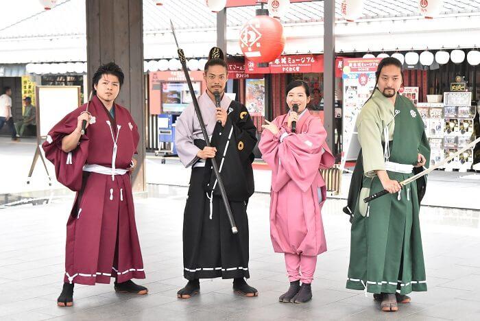 熊本城、おもてなし武将隊