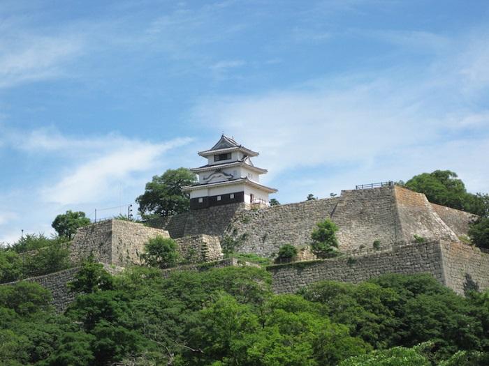 丸亀城、天守、現存