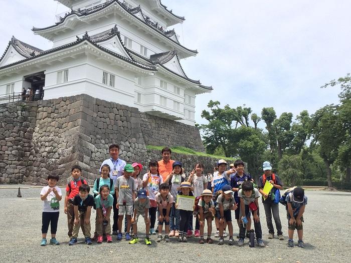 小田原城、城びと、イベント、集合写真、加藤理文先生、諏訪間先生