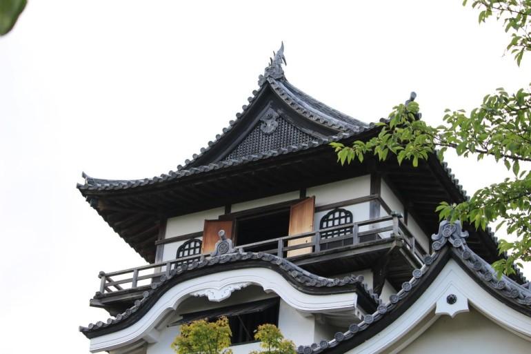 犬山城、天守、最上階