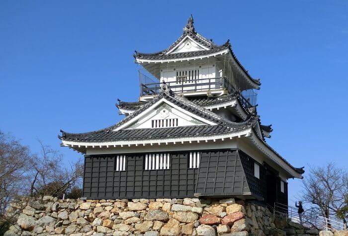 浜松城、天守、天守台、石垣、本丸