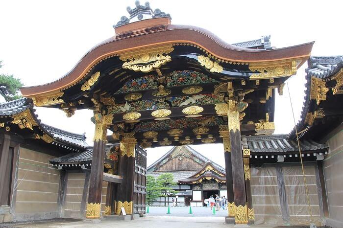 二条城、唐門、彫刻、二の丸御殿