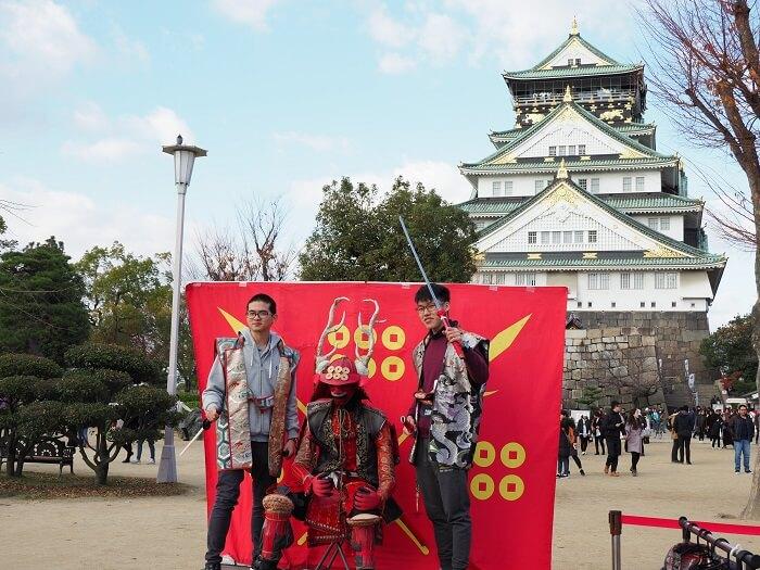 大阪城、本丸、イベント