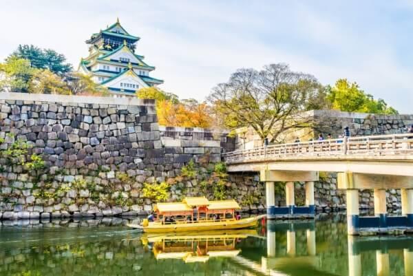 大阪城、天守、徳川慶喜