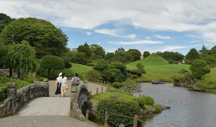 水前寺成趣園、成趣園十景、熊本城