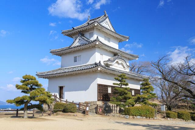 丸亀城、三重の櫓、天守