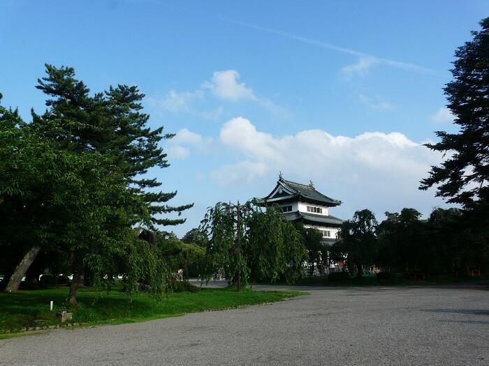 弘前城、天守、本丸