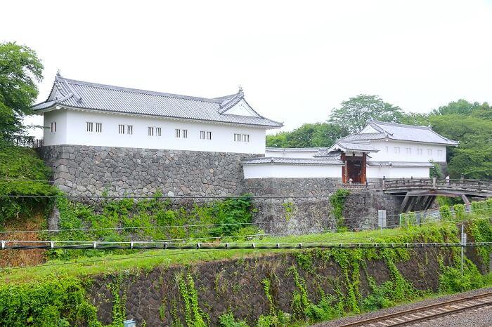 山形城、門、櫓、復元