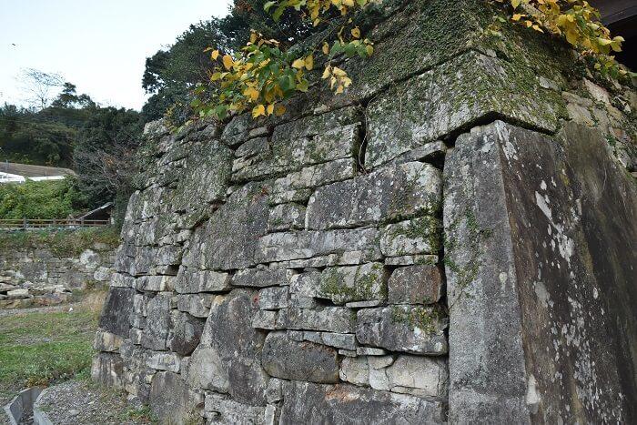 金石城、櫓門、石垣、対馬