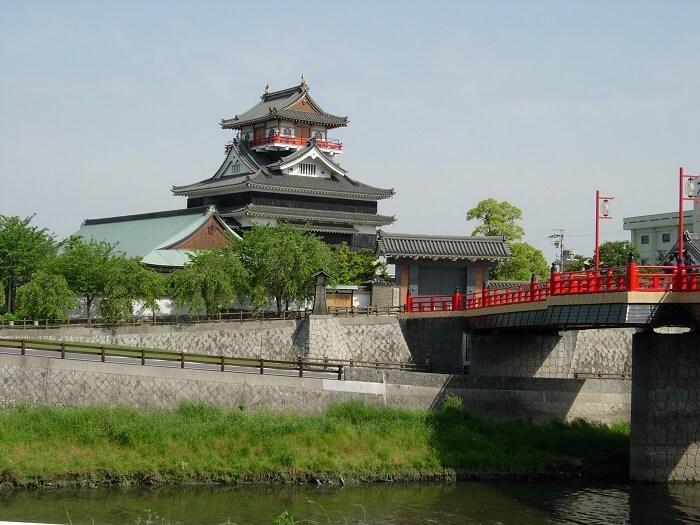 清須城、天守、復元
