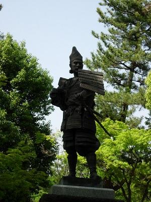 織田信長像、清須城、