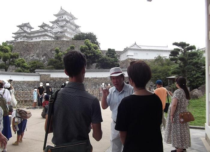 姫路城、シルバー観光ガイド