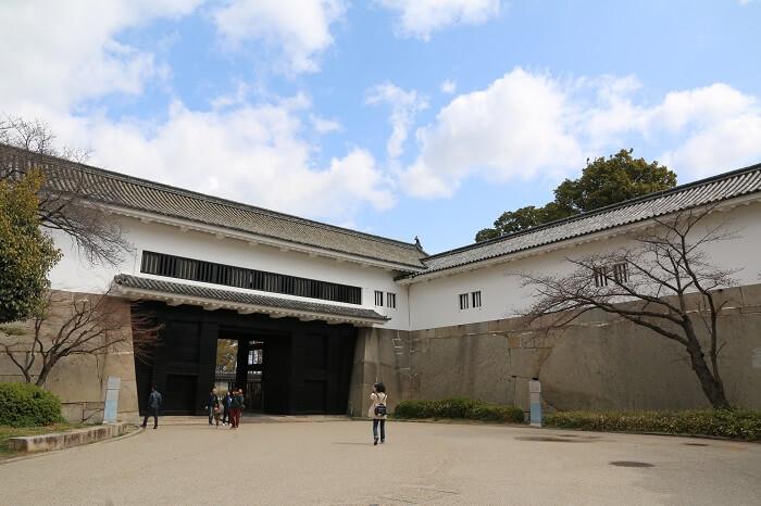 大阪城、大手門、鏡石