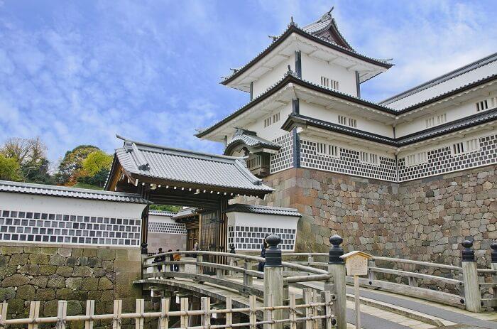 搦手門、金沢城、石川門、桝形構造