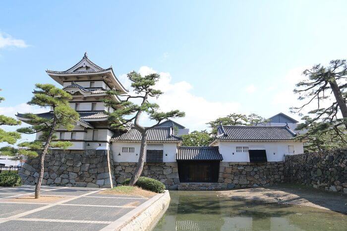 高松城、水の手御門、瀬戸内海